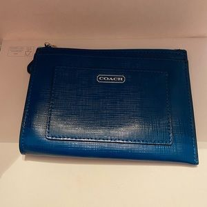 Authentic Coach Dark Blue Wallet